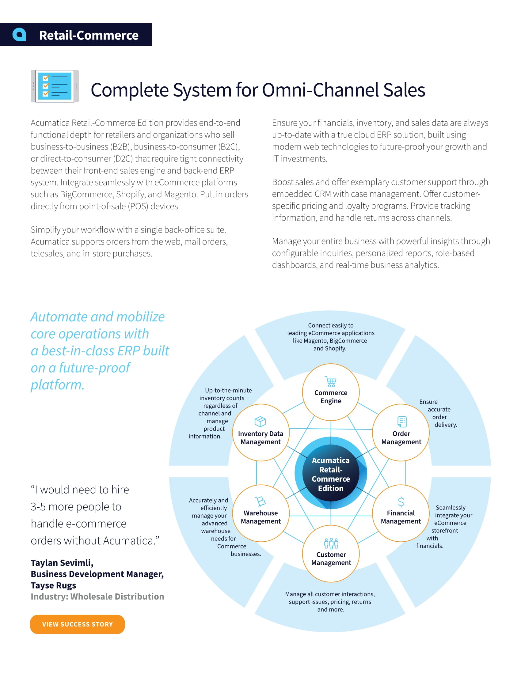 Choose an Commerce-Enabled ERP That Supports Your Whole Business, page 1