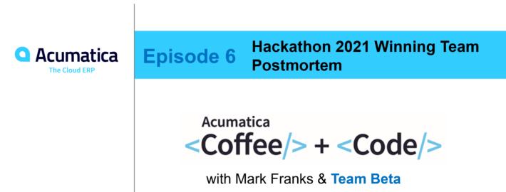 Coffee & Code: Episode Six