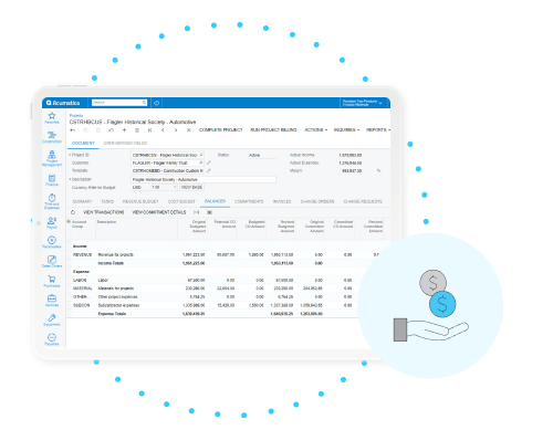 Easily Manage Financials