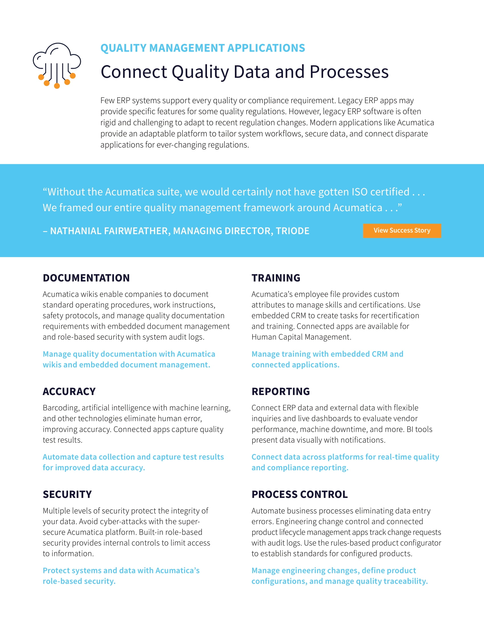 Simplify Compliance with Quality Management ERP Software, page 2