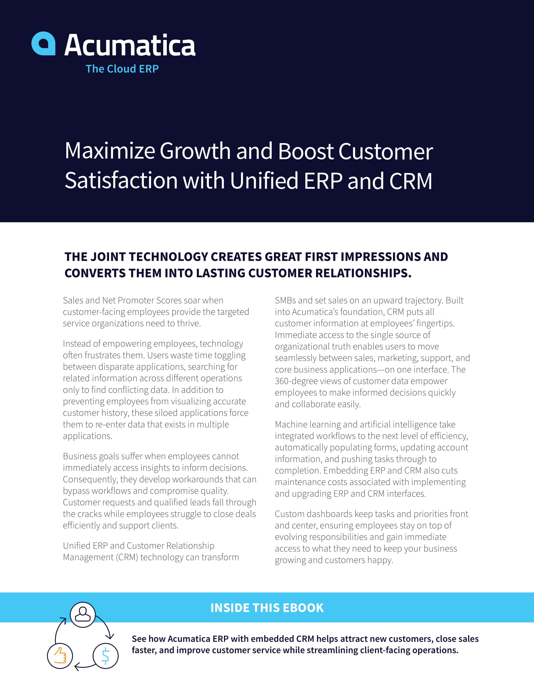 Using ERP with CRM to Maximize Growth