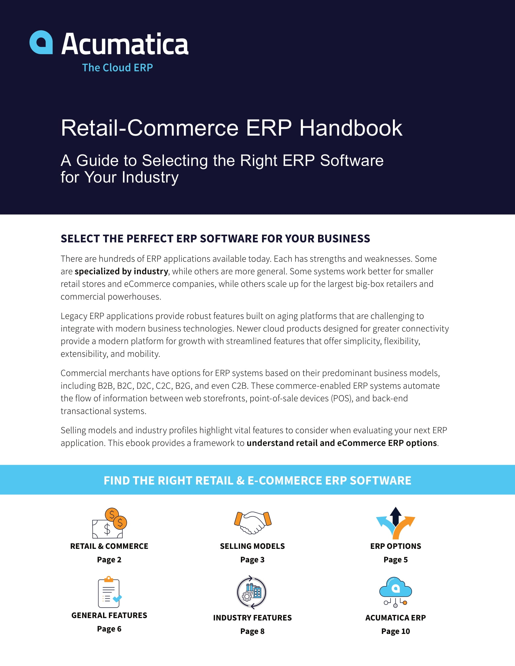 Choosing a Retail and eCommerce ERP