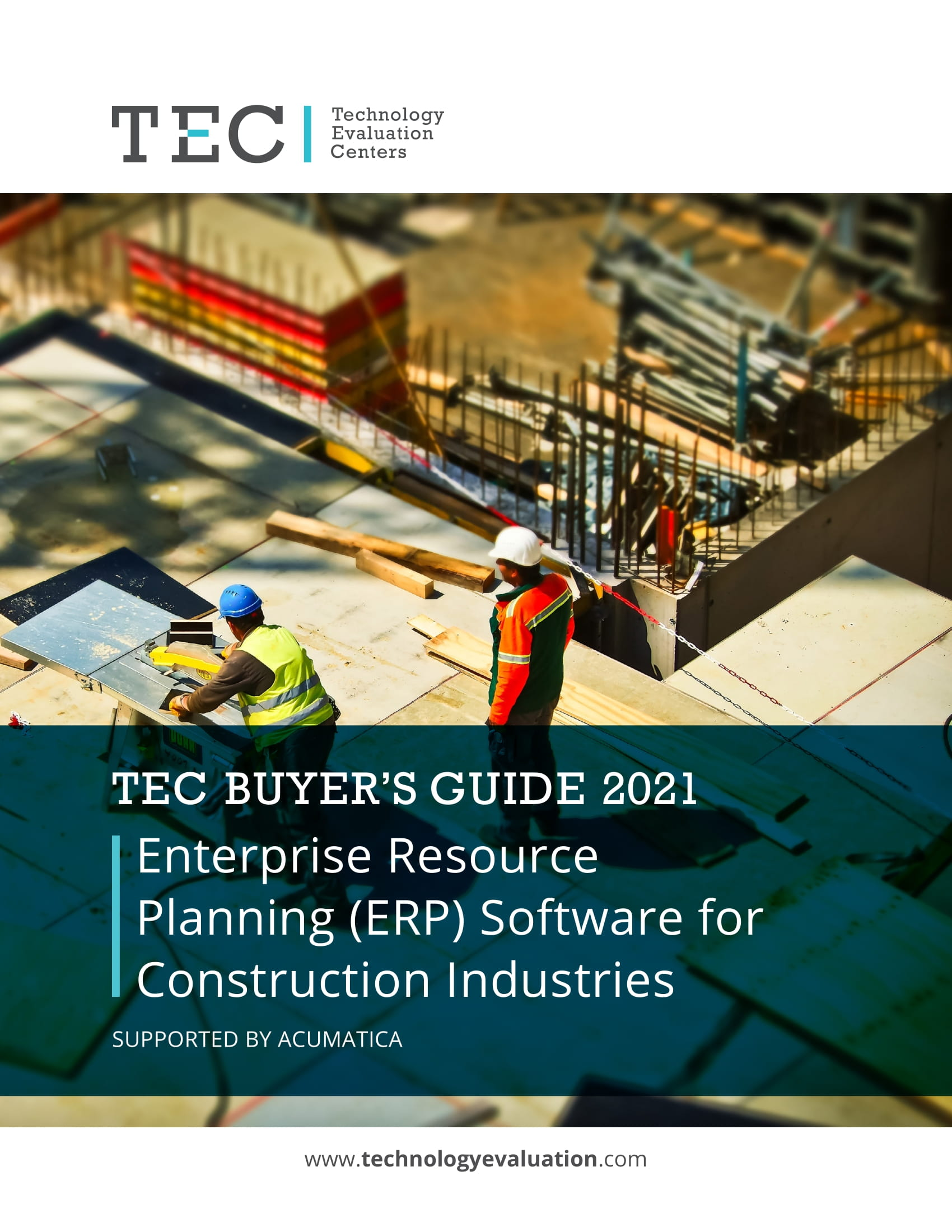 TEC 2021 ERP Software for Construction Industries Buyer's Guide