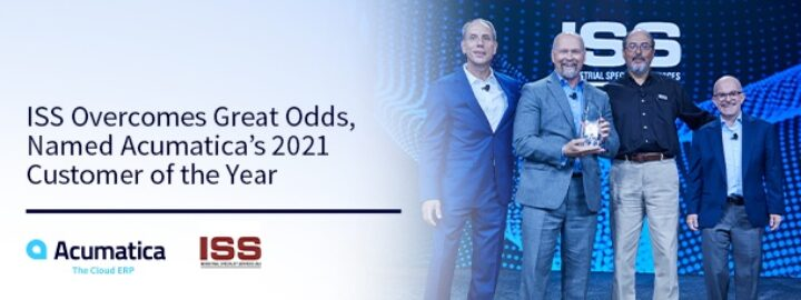 ISS Overcomes Great Odds, Named Acumatica's 2021 Customer of the Year